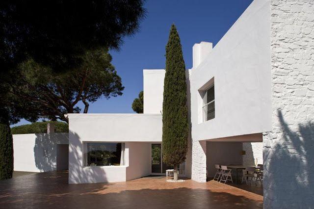 José Antonio Coderch + Manuel Valls   Casa Ugalde, Caldes d'Estrac   HIC Arquitectura
