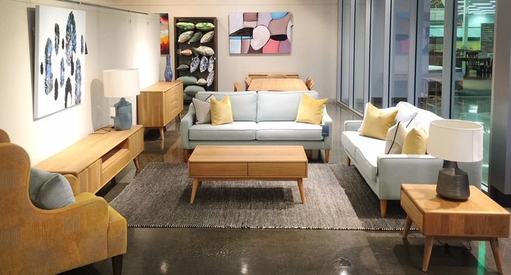 The mid-century Lotus range is made in American Oak.  Available as dining table, dining chair, entertainment unit, coffee table, console table and lamp table. From Urban Rhythm, Melbourne.  urbanrhythm.com.au