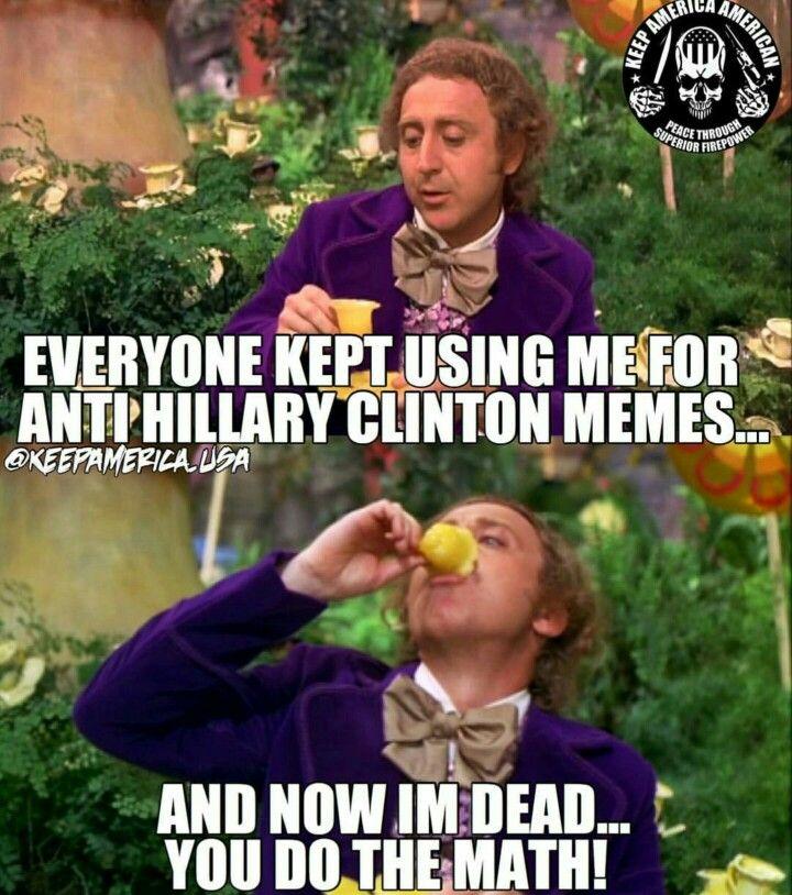 Hillary Clinton memes                                                                                                                                                                                 More