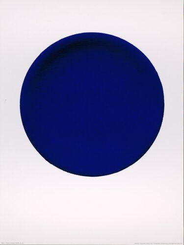 Blue | Blau | Bleu | Azul | Blå | Azul | 蓝色 | Color | Form | Texture | Yves Klein
