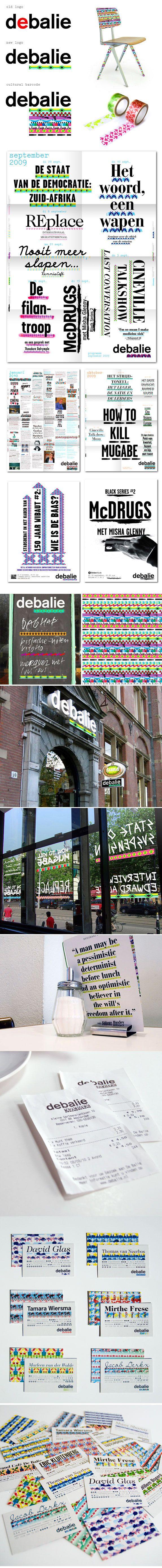 De Balie | Lava Graphic Design, Amsterdam