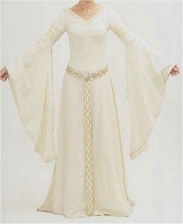 Crónicas de una feeder: Vestidos Medievales