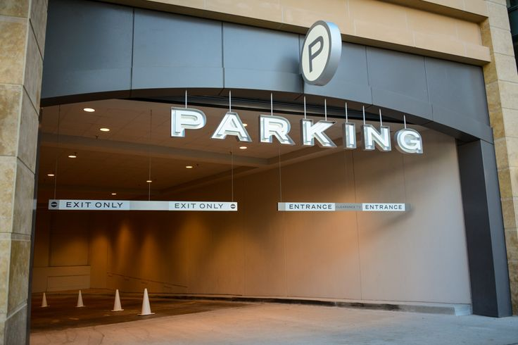 Buckhead Atlanta | Architectural Signs | Mixed Use Signs | DeNyse Companies