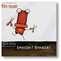 Danger danger - The adventures of Tin Man Tony Cribb - artist