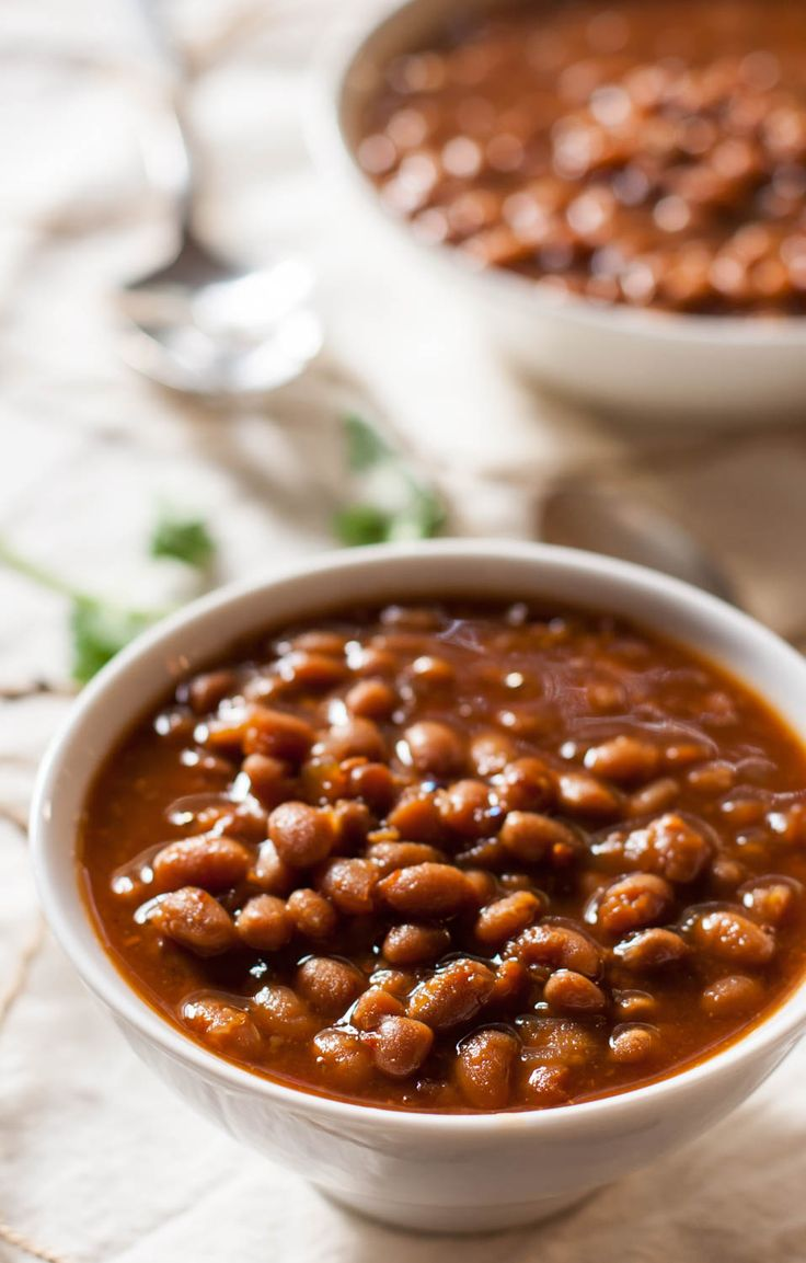 vegetarian slow cooker baked beans baked bean recipes beans recipes ...
