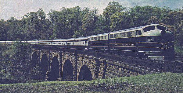 Baltimore and Ohio Railroad - Wikipedia, the free encyclopedia