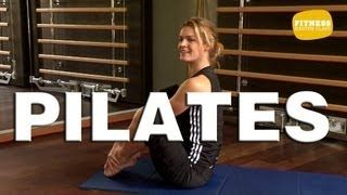 Fitness Master Class - Pilates - Exercices de Pilates pour débutant - YouTube