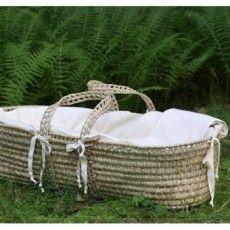 total: $291: basket w/ mattress, bumper & blanket $237, fitted sheet $24, wool piddle pad $30 (organic and all that blah blah)