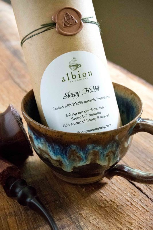 Albion Tea Company :: Handcrafting one of a kind tea blends inspired by our favourite books. We work with organic ingredients and only use real food, spices and herbs, no flavorings here!