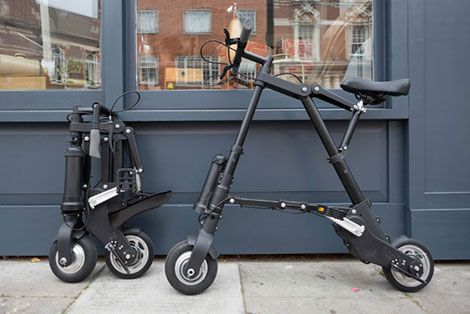 Kickstarter campagne leidt tot productie lichte elektrische vouwfiets (via Engineeringnet.nl)