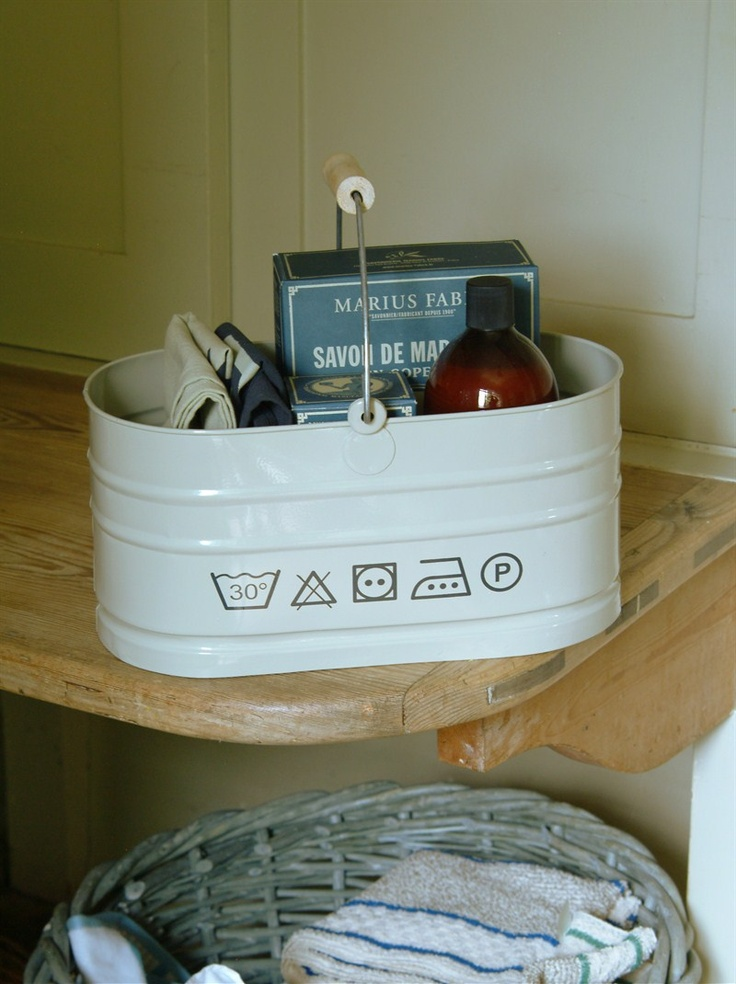 wash care symbol utility bucket is perfect for storing and carrying all manner of laundry essentials