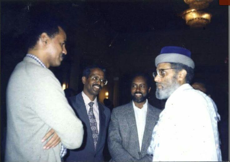 When former PM Meles Zenawi was in 'love' with President Isaias Afewerki, and Prof. Berhanu Nega   Other high profile Ethiopian political figures can also be identified from the attached pictures   Images mostly taken in Addis Ababa in June/July 1991 G.C
