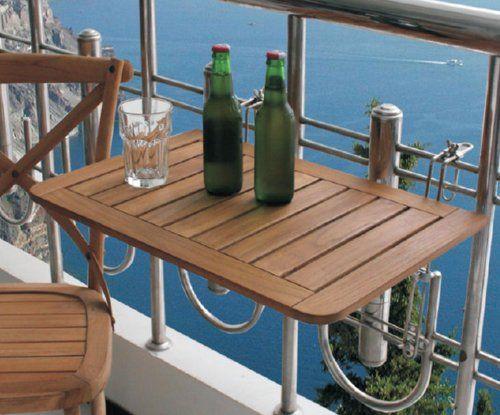Balkontisch klappbar selber bauen  Die besten 25+ Balkonhängetisch Ideen auf Pinterest   Balkon ...