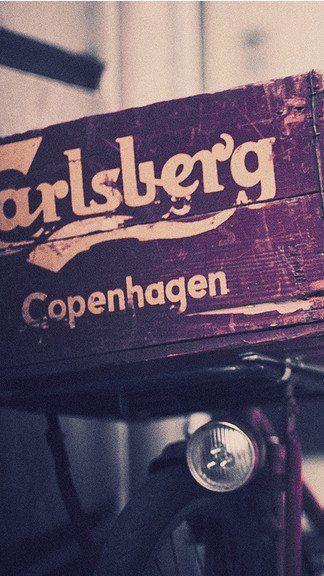 Vintage Carlsberg iPhone 5C / 5S wallpaper