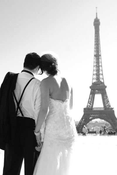 perfection = a wedding in the most romantic city in the world.