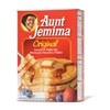 """Aunt Jemima Original Pancake & Waffle Mix ~ The industry-leading brand edged out Hungry Jack by a hair for flavor (but ranked second for texture). This Auntie includes more sugar and salt than any other manufacturer—to her advantage. """"Are you sure this came from a box?"""""""