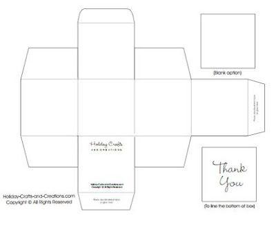 4 Moldes para hacer hermosas cajas personalizadas con cartulina ~ Solountip.com