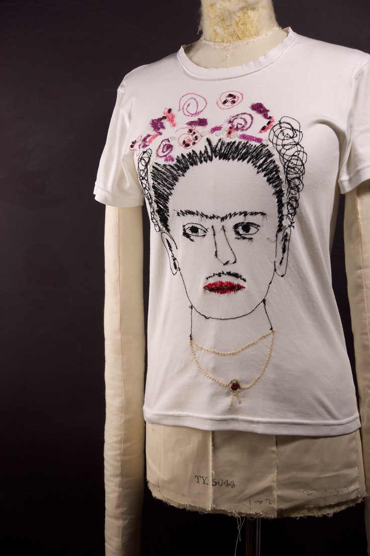 Frida Kahlo t-shirt by Jimi Roos for GALLERIA J