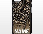 Maori polynesian samoan tribal tattoo reto vtg print pattern cover for sony xperia Z2 Z3 Z5 comapct Htc one m9 Lg G3 phone case