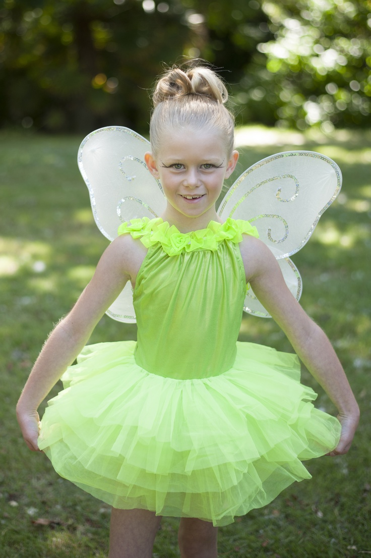 TINKERBELL FAIRY TUTU Tinkerbell the fairy is one of the most well known fairies of all time comes alive in this bright lime green tutu. The full and fancy tulle skirt can make any girls wishes come true! ONLY $99.99 email Heidi@rosebuds.net.nz