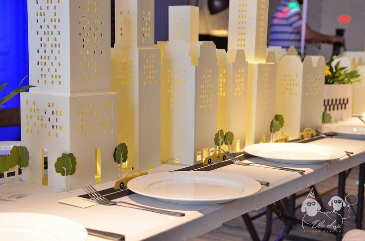 NYC themed party / Вечеринка в стиле Нью-Йорк