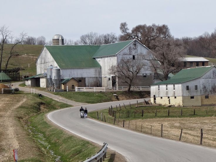 Sunday Afternoon Drive In Ohio's Amish Country
