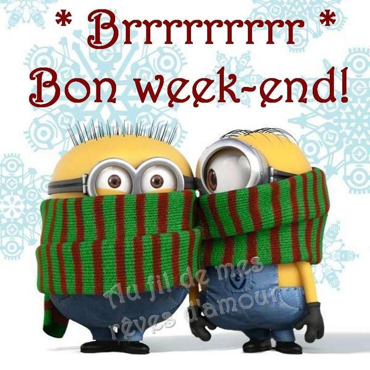 Brrrrrrr Bon week-end!                                                                                                                                                                                 Plus