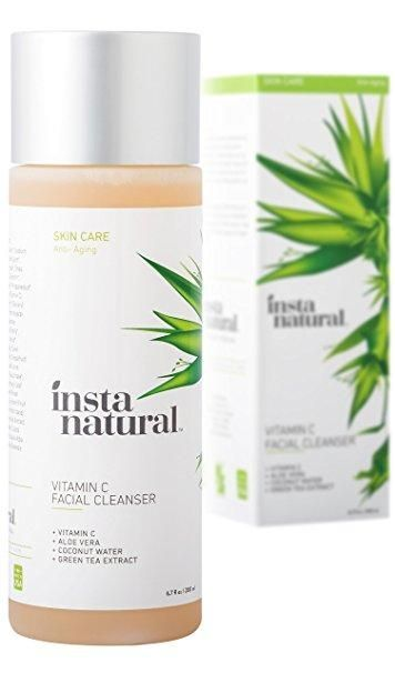 InstaNatural Acne Face Wash with Salicylic Acid for Oily & Combo Skin, 6.7 Oz Face Polish Oil Free Tea Tree By Trillium