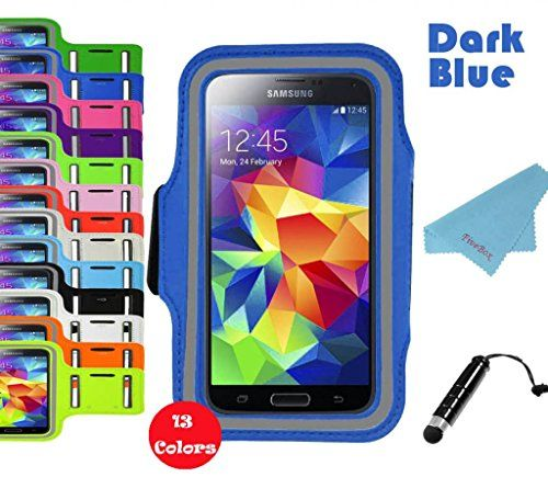 Cute FiveBox Gym Running Sport Workout Armband Case for Sony Xperia Z Samsung galaxy S