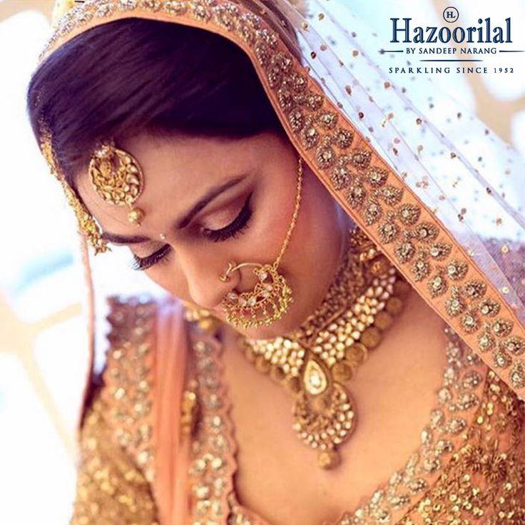 #HazoorilalBySandeepNarang has everything to turn a bride's fantasy into reality. #BridesHazoorilalBySandeepNarang #BridalJewellery #22ktGold #JewelleryTrendSetters #ClientDiaries #HazoorilalBrides #ItcMaurya #DlfEmporio #HazoorilalJewellers #Hazoorilal