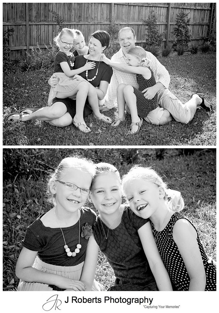 Family Portrait Mini Session Donation in Family Home Killarney Heights