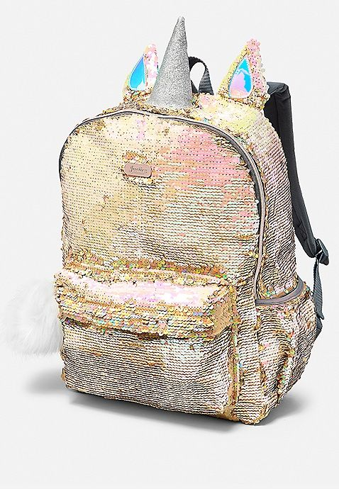 Unicorn Flip Sequin Backpack  68a05550d13e7
