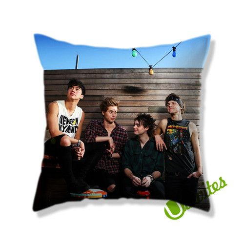 5 Second Of Summer 5SOS 2 Square Pillow Cover