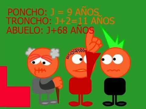 Troncho y Poncho Expresiones Algebraicas - YouTube