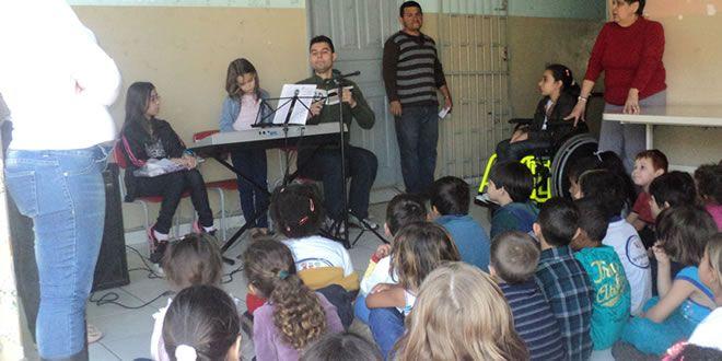 Recital Musical nas escolas - http://projac.com.br/noticias/recital-musical-escolas.html