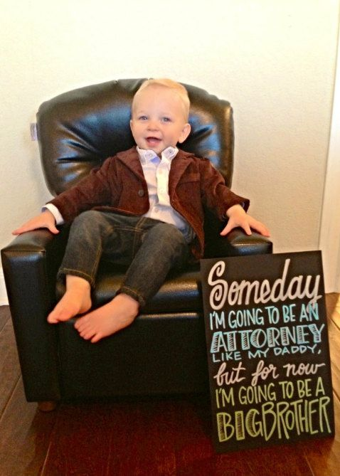 17 Best images about Pregnancy announcement ideas – Big Brother Birth Announcement Ideas