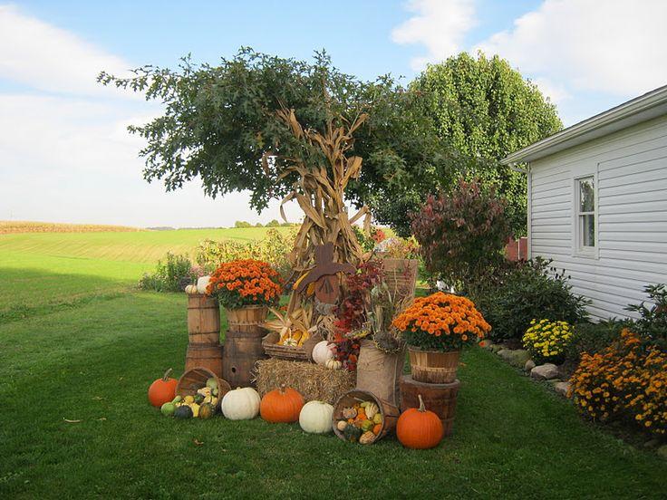Harvest Yard Displays Deppenhomestead1862 Tuesday