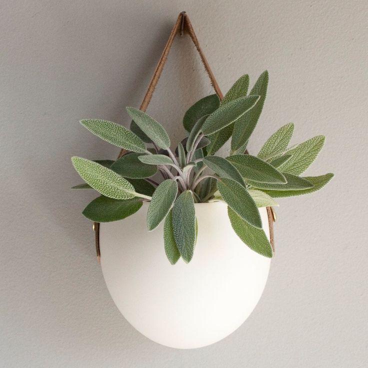 porcelain hanging vase