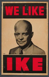 Campaign poster from 1952.