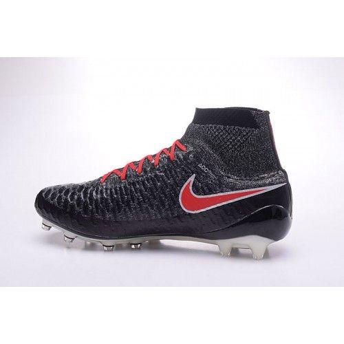 Nyeste Nike Magista Onda FG Svart Rod Fotballsko