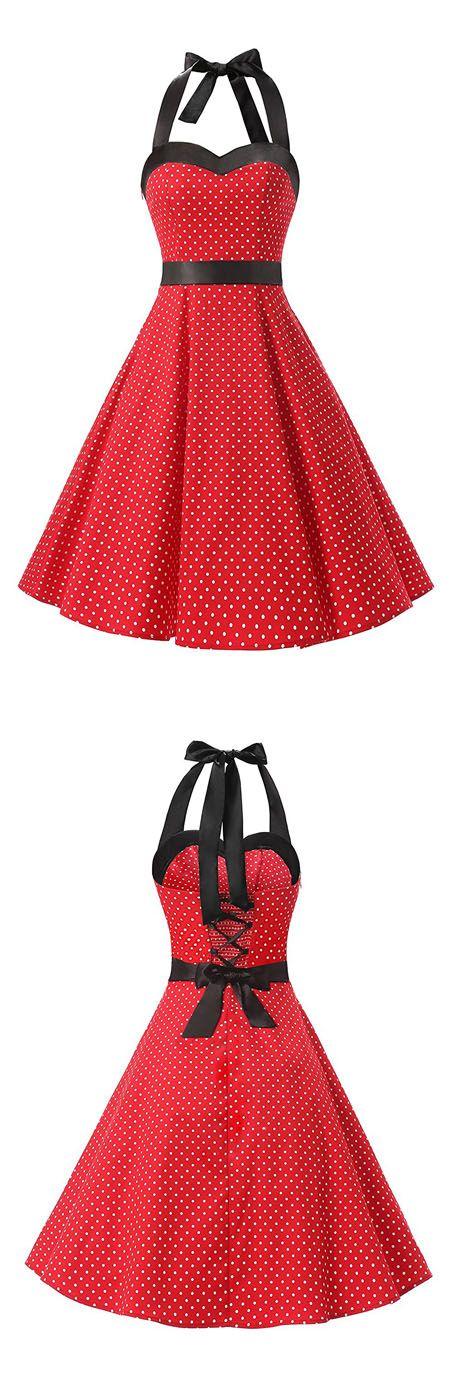 vintage style dresses,rockabilly dress,ruched retro dress,polka dots dress,swing dress