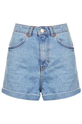 MOTO Bleach Shorts - Shorts  - Clothing