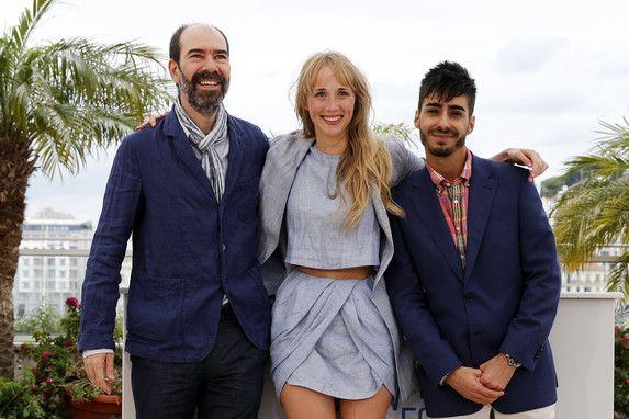 19 Mai - Ingrid García Jonsson, Jaime Rosales et Carlos Rodríguez - Photocall - Hermosa Juventud