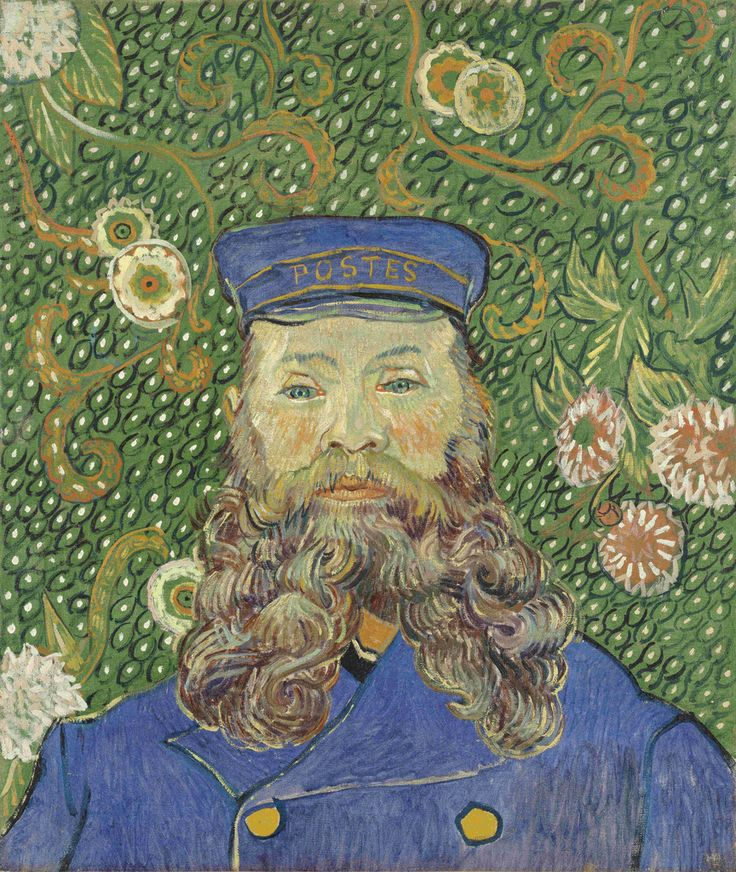 Most Expensive Paintings in the World | 'Portrait of Joseph Roulin' by Vincent van Gogh $ 108 Million |