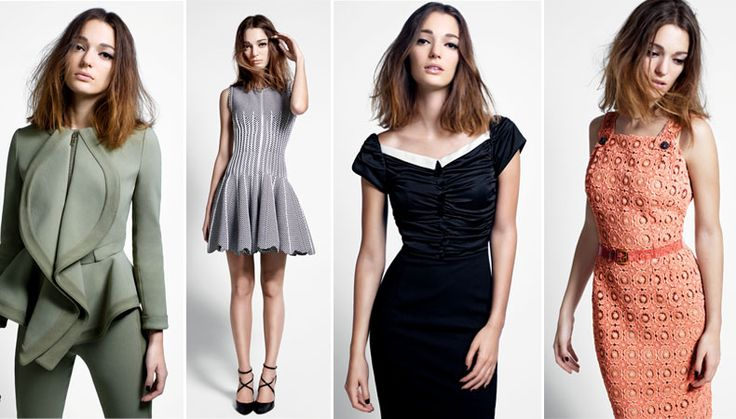 The dress second from the left: Alaïa: Today Trees, Videos Features, Time Videos, Dresses Second, Trees Time, The Dresses