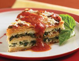 Tortilla Lasagna with Swiss Chard Recipe | Vegetarian Times