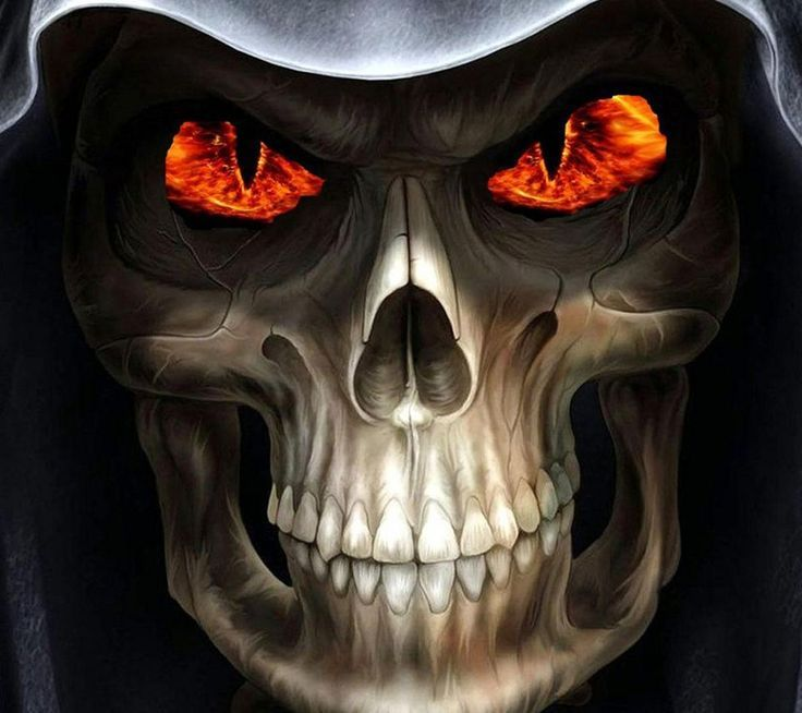 evil skull wallpapers screensaver -#main