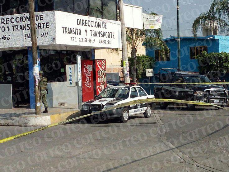 Tercer ataque a módulo de Tránsito de Apaseo el Alto deja un oficial muerto - Periodico Correo