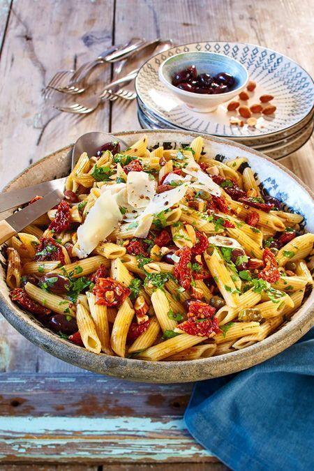 Italienischer Nudelsalat   – Salat   salad – #Italienischer #Nudelsalat #salad #…