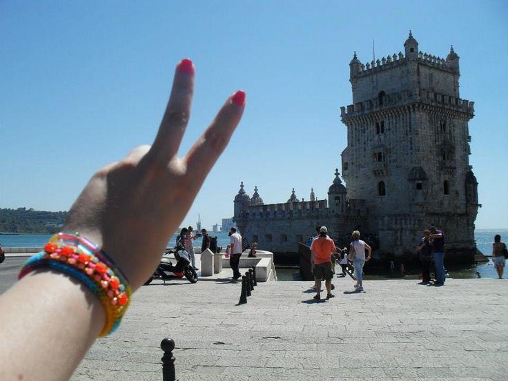 #Movimento_Gipsy em Torre de Belém, Lisboa